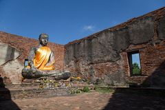 Wat Worachettharam Image libre de droits