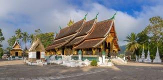 Wat Xieng皮带寺庙,琅勃拉邦,老挝 库存照片