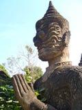 Wat Xieng Khuan auf Lao Lizenzfreies Stockbild
