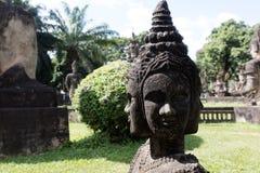 Wat Xieng Khuan Buddha park. Vientiane, Laos Royalty Free Stock Images