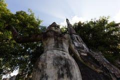Wat Xieng Khuan Buddha park. Vientiane, Laos Stock Images