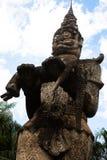 Wat Xieng Khuan Buddha park. Vientiane, Laos Stock Photos