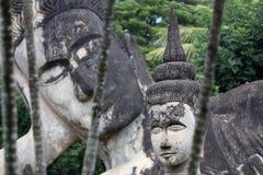 Wat Xieng Khuan Buddha park. Vientiane, Laos Royalty Free Stock Image
