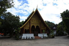 Wat Xieng Mouane Image libre de droits