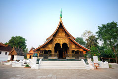 Wat Xieng Thong Royalty Free Stock Image