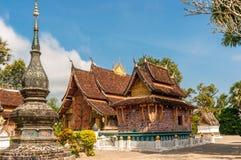 Wat Xieng Thong stockbild