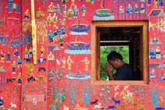 Wat Xieng Thong Royalty Free Stock Photography