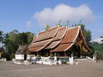 Wat Xieng Thong en Luang Prabang, Laos foto de archivo libre de regalías