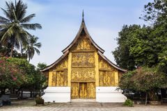 Wat Xieng Thong, Landmark of Luang Prabang, Laos. UNESCO World Heritage Site. Stock Photo