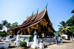 Wat Xieng Thong, Luangprabang Fotos de archivo