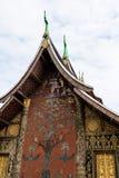 Wat Xieng Thong o el templo de oro de la ciudad en Luang Prabang, Laos fotografía de archivo libre de regalías
