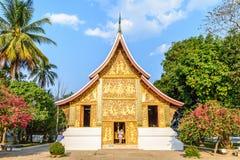 Wat Xieng Thong Ratsavoravihanh or Temple of the Golden City at Luang Prabang, Laos Royalty Free Stock Image