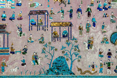 Wat Xieng Thong tempel Arkivfoton