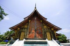 Wat Xieng thong temple,Luang Pra bang, Laos Stock Image