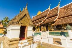 Wat Xieng thong temple,Luang Pra bang, Laos.  stock images
