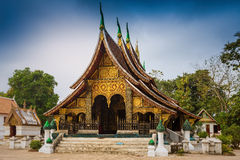Wat Xieng thong temple,Luang Pra bang Stock Images