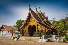 Wat Xieng thong temple,Luang Pra bang Royalty Free Stock Image
