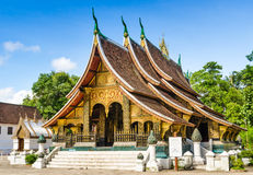 Wat Xieng thong temple,Luang Pra bang, Laos Stock Images