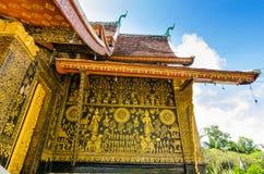 Wat Xieng thong temple,Luang Pra bang, Laos Royalty Free Stock Images