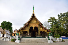 Wat Xieng thong temple, Luang Pra bang, Laos Stock Photo