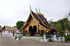Wat Xieng thong temple, Luang Pra bang, Laos Stock Image