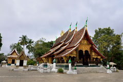 Wat Xieng thong temple, Luang Pra bang, Laos Royalty Free Stock Images