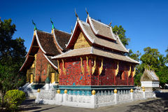 Wat Xieng thong temple, Luang Pra bang, Laos Stock Images