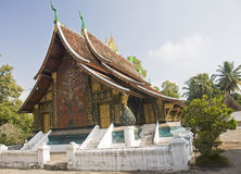 Wat Xieng thong temple,Luang Prabang Stock Photo
