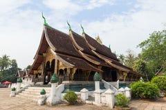Wat Xieng Thong temple in Luang Prabang Royalty Free Stock Photo