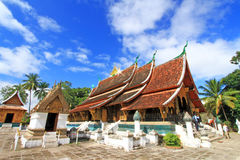 Wat Xieng Thong Temple Royalty Free Stock Photos