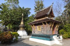 Wat Xieng Thong temple Royalty Free Stock Photography