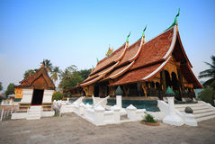 Wat Xieng Zapfen stockfoto