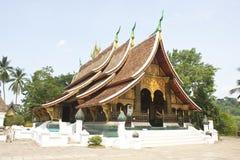Wat Xiengthong lizenzfreies stockbild