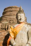 Wat Yai Chai Budddha fotos de stock