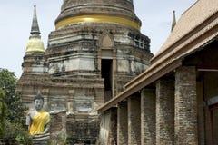 Wat Yai Chai Mong Kon. Stock Images