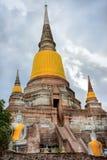 Wat Yai Chai Mongkhol Fotografia Stock