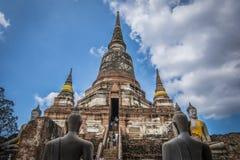 Wat Yai Chai Mongkhol стоковая фотография rf