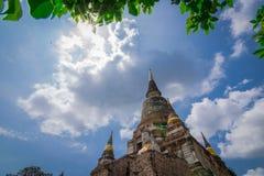 Wat Yai Chai Mongkhol стоковые изображения rf