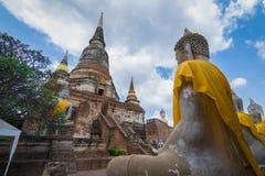 Wat Yai Chai Mongkhol стоковая фотография