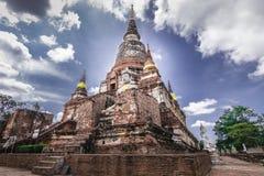 Wat Yai Chai Mongkhol стоковое фото