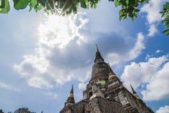 Wat Yai Chai Mongkhol стоковые фото