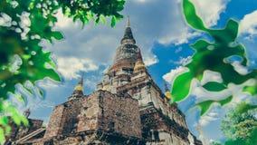 Wat Yai Chai Mongkhol стоковое изображение