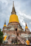 Wat Yai Chai Mongkhol. Ayutthaya, Thailand stock photography
