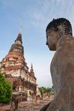 Wat Yai Chai Mongkhon. Wat Yai Chai Mongkhon in Ayutthaya, Thailand Royalty Free Stock Photos