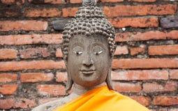 Wat Yai Chai Mongkhon Foto de Stock Royalty Free