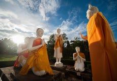 Wat Yai Chai Mongkhon Imagen de archivo libre de regalías