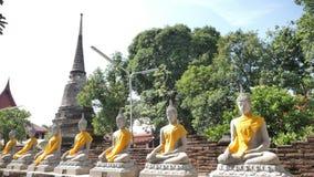 Wat Yai Chai Mongkhon immagine stock