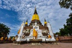 Wat Yai Chai Mongkhon Stock Foto