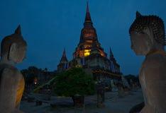 Wat yai chai mongkhon, ayuthaya, thailand. Royalty Free Stock Image