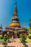 Wat Yai Chai Mongkhon Ayutthaya bangkok Thailand Stock Image